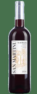 San martinu rouge vin corse