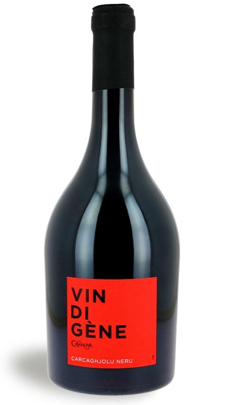 Vin rouge carcaghjolu neru